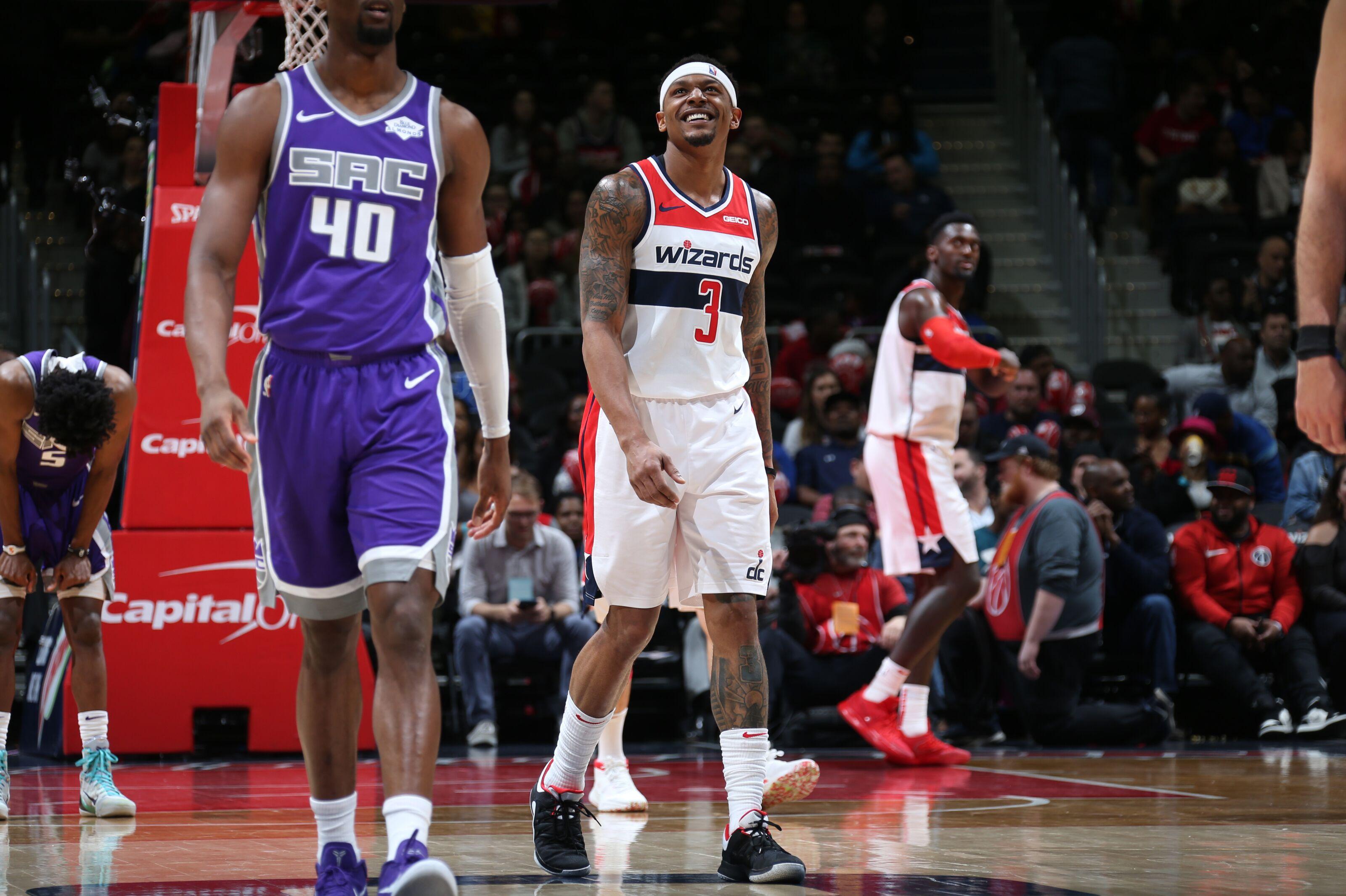 a2fe4436961 Washington Wizards  Bradley Beal Continues March s Triple-Double  Flirtations in Sacramento Kings Win