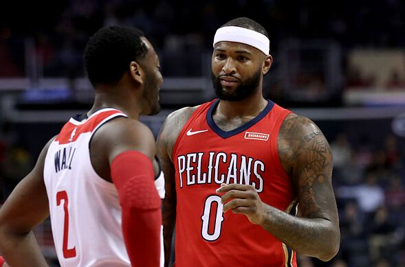 70bef2b95dbc Does DeMarcus Cousins want to join the Washington Wizards