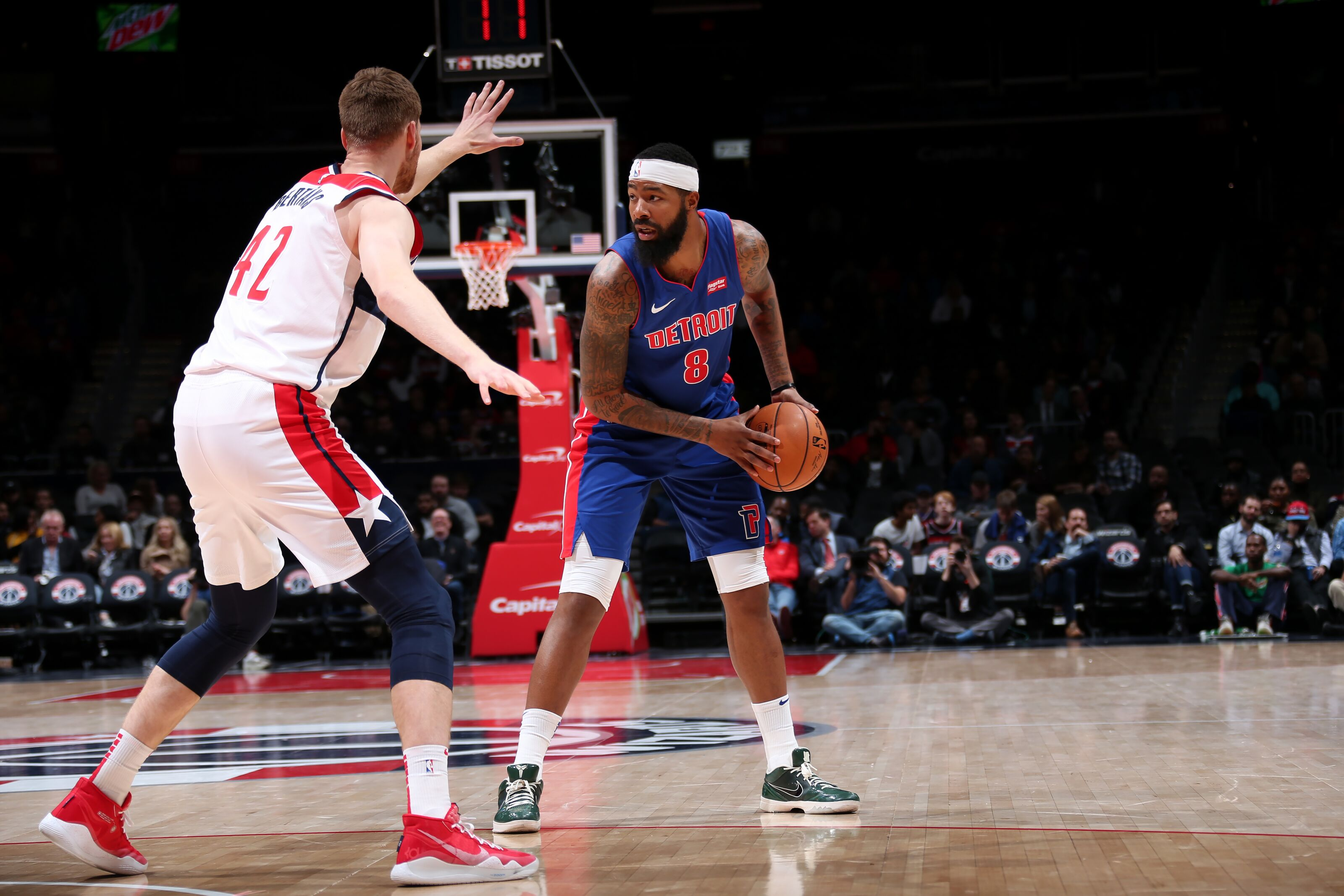 Preview: Washington Wizards host the rolling Detroit Pistons on MLK Day