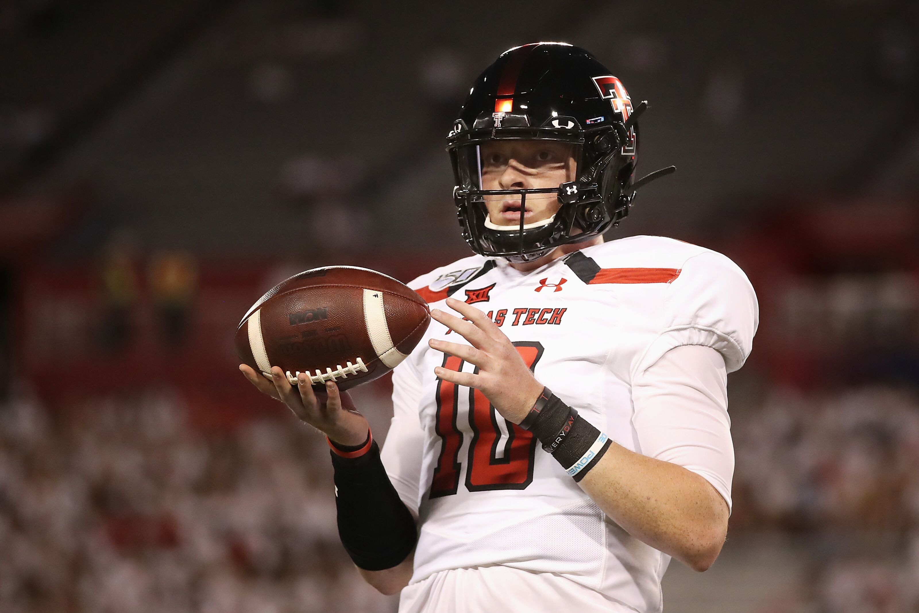 Reports: Texas Tech football loses QB Alan Bowman for 6-8 weeks - Wreck'Em Red