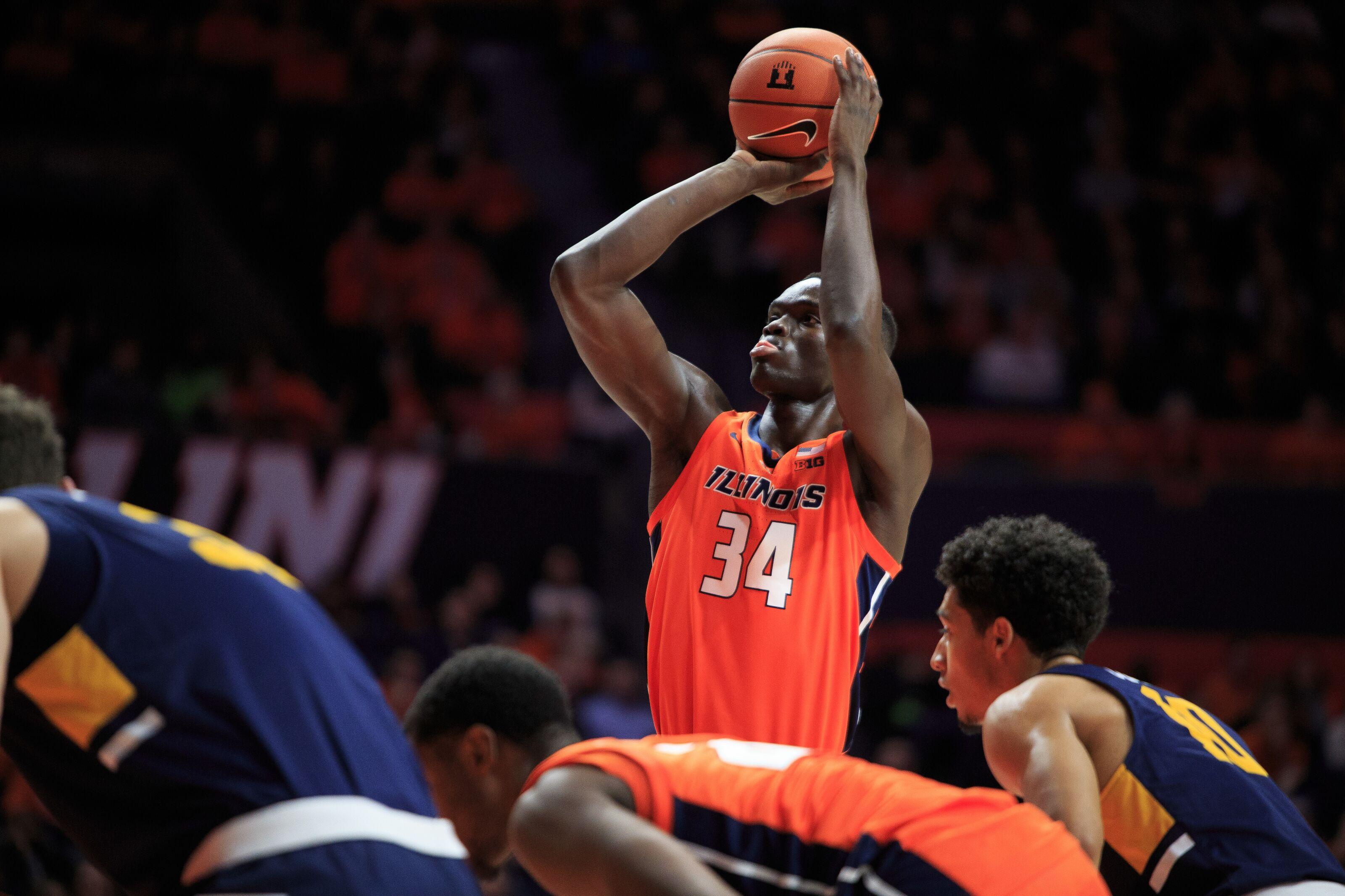 Illinois Basketball: Illini lose backup center Samba Kane to transfer