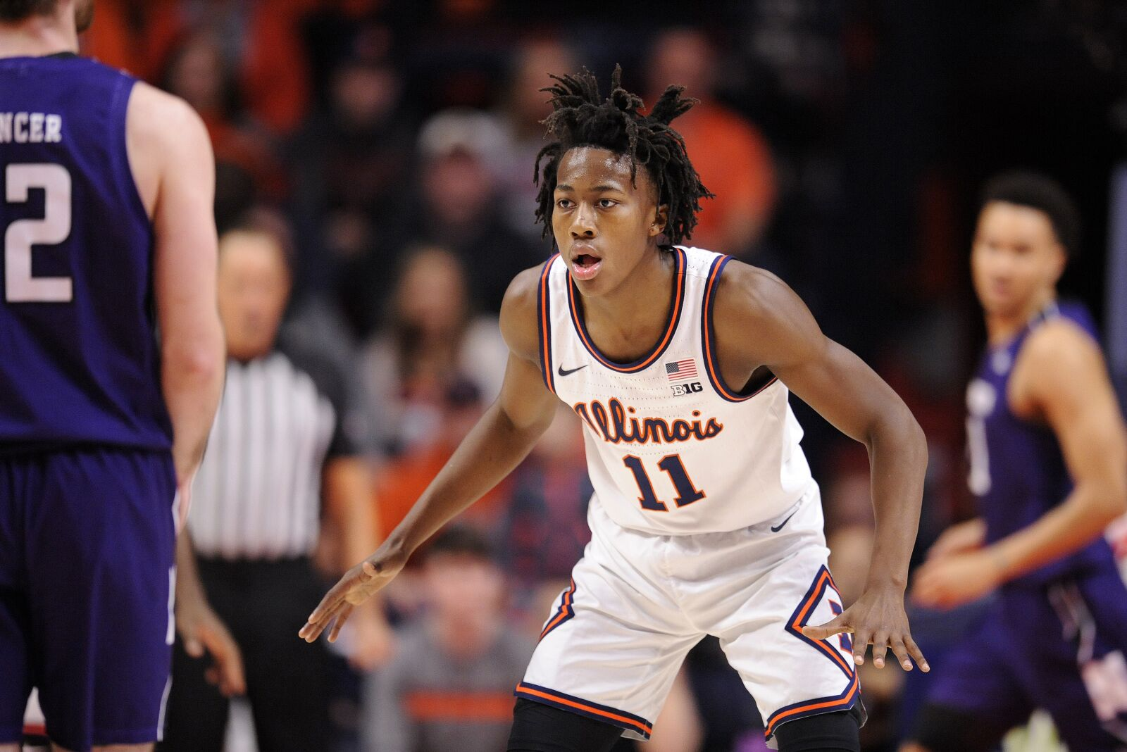 Illinois Basketball: Ayo a game-time decision for Illini against Penn State