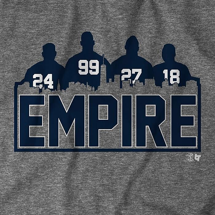 Yankees fans need this  New York Empire  t-shirt from BreakingT 33a98d3bb18