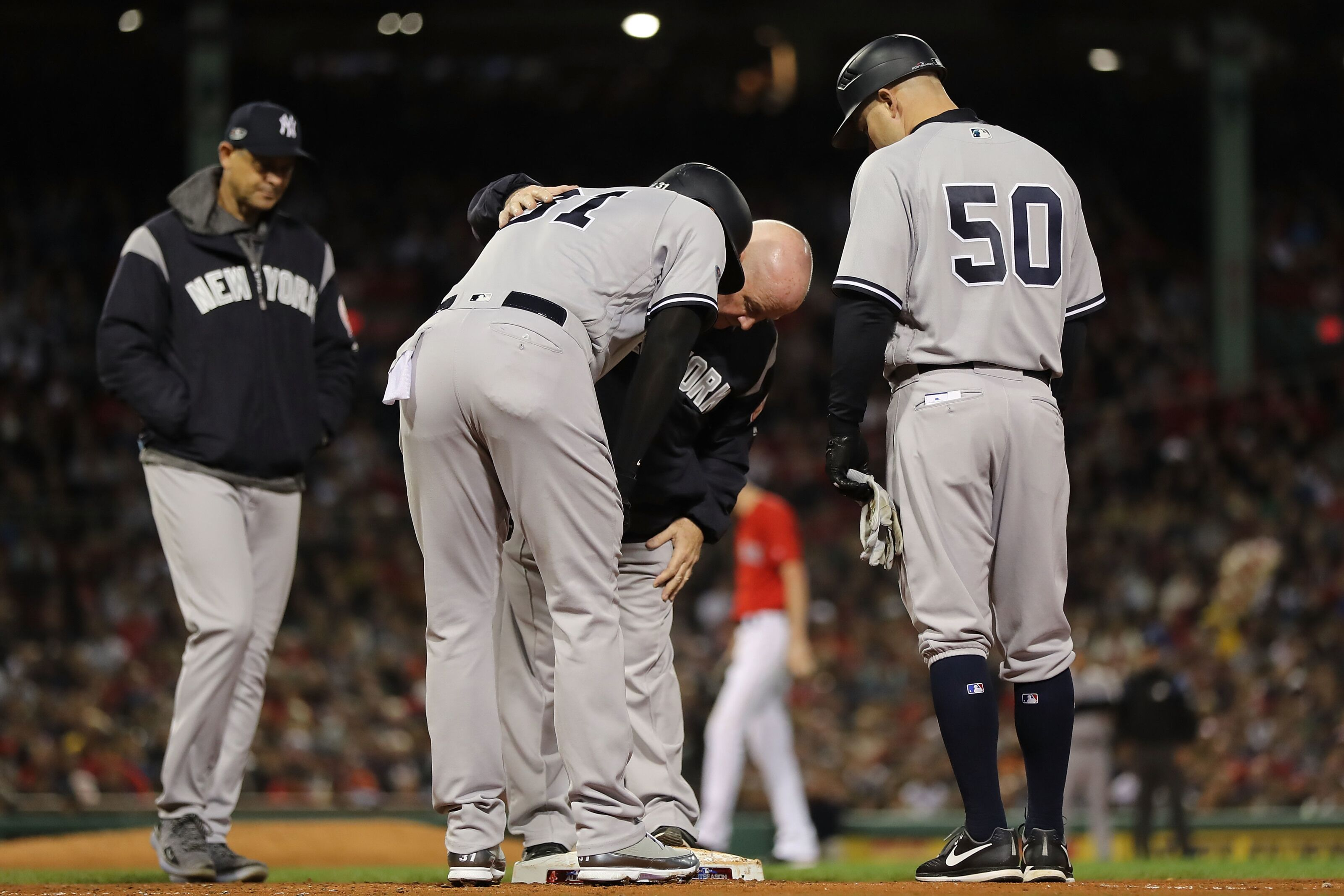 Yankees wave goodbye to director of strength and conditioning Matt Krause