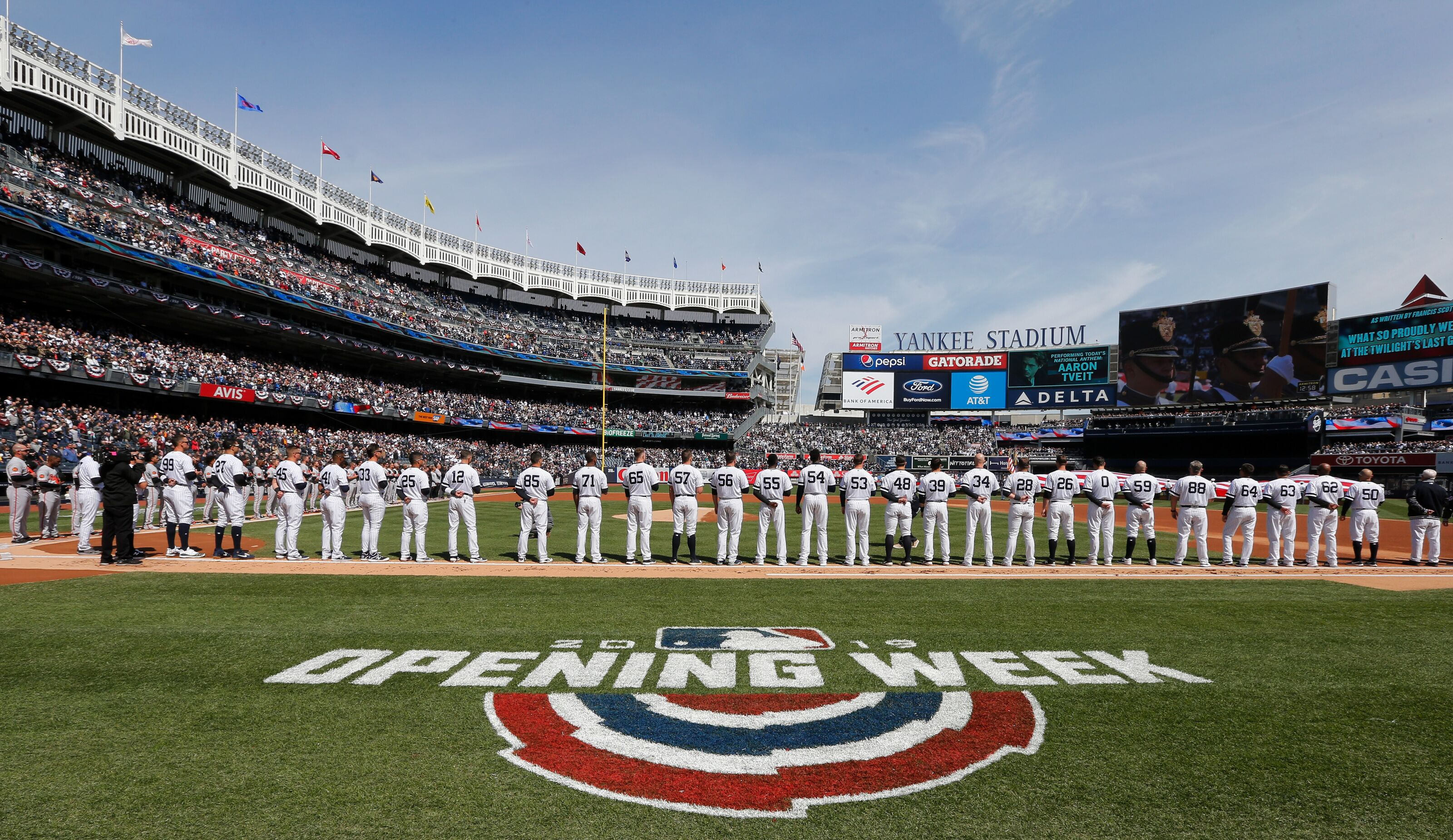 Yankees: A look at the schedule for the first month of the regular season