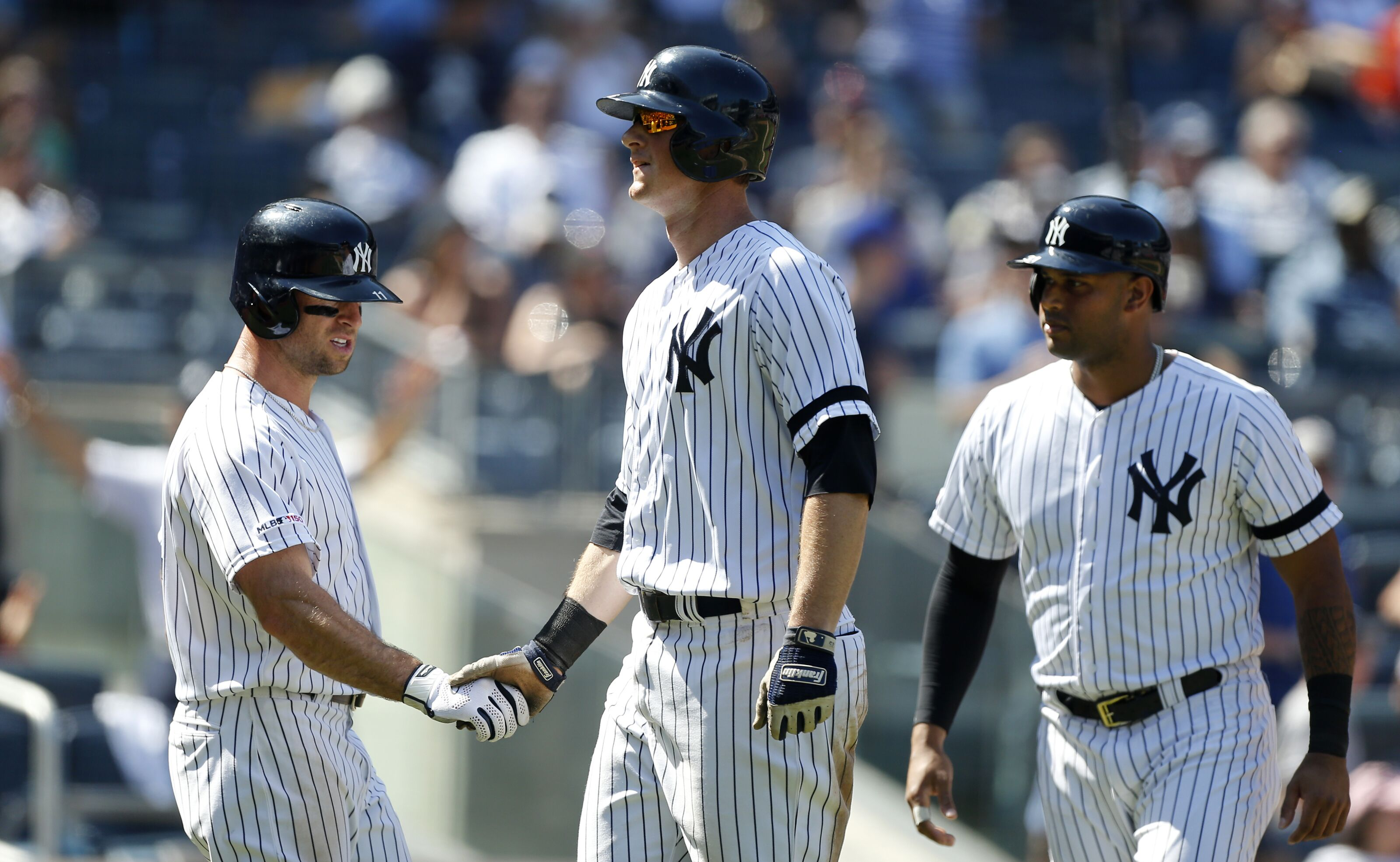 Yankees set a franchise record by homering in 26th straight game