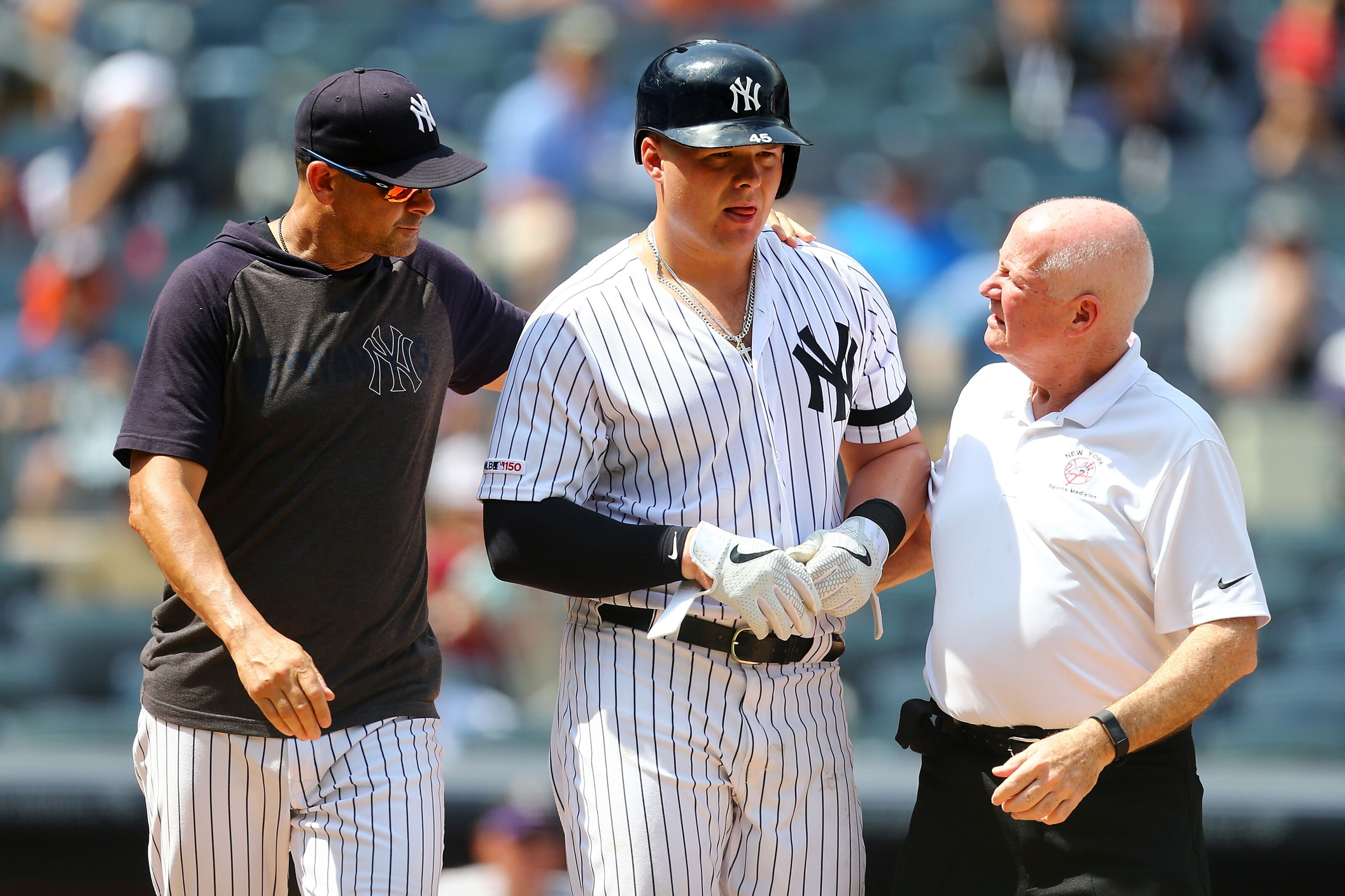 Yankees: Luke Voit is expected to begin a rehab assignment on Friday