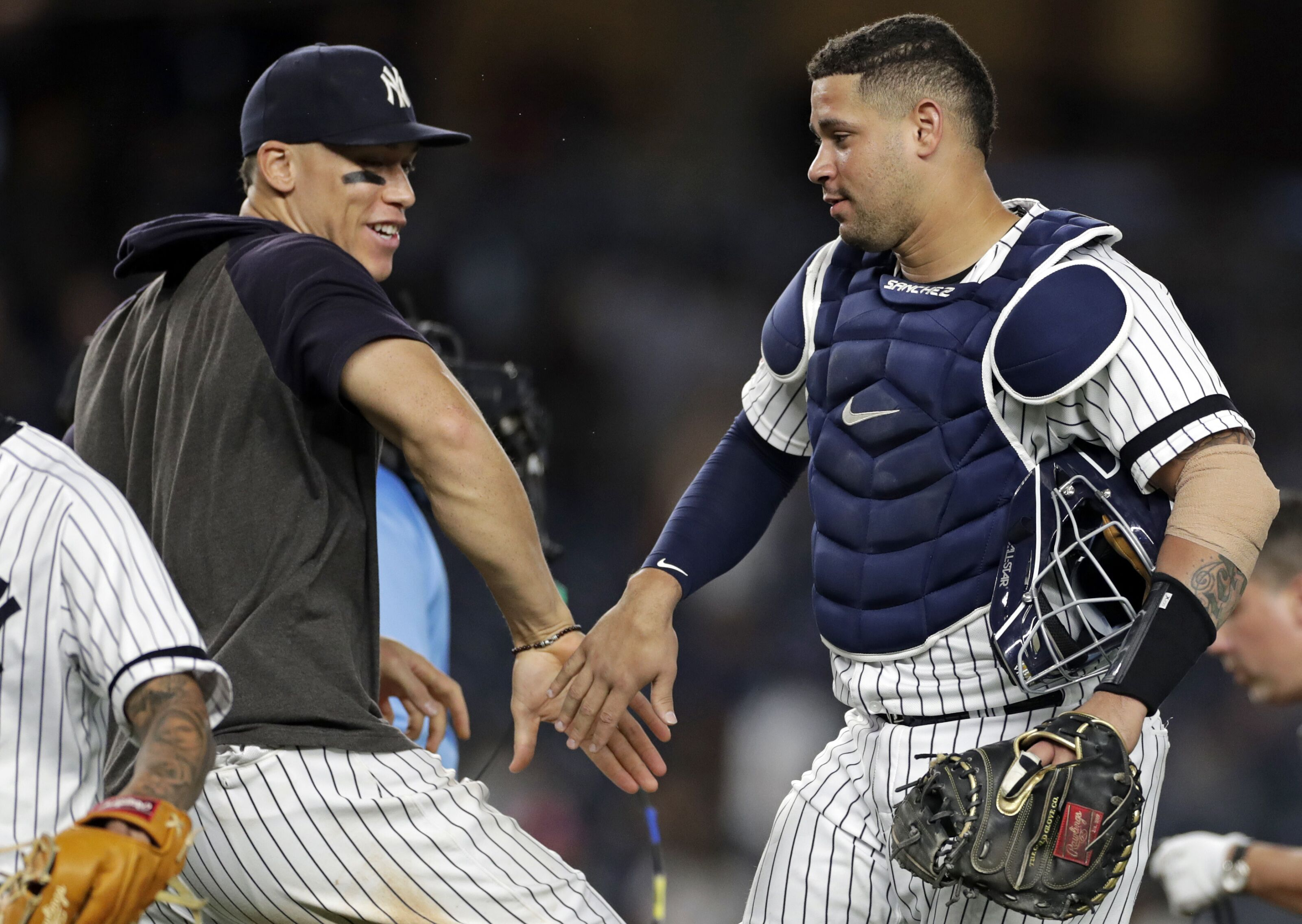 Yankees avoid arbitration with nine players including Gary Sanchez and Aaron Judge