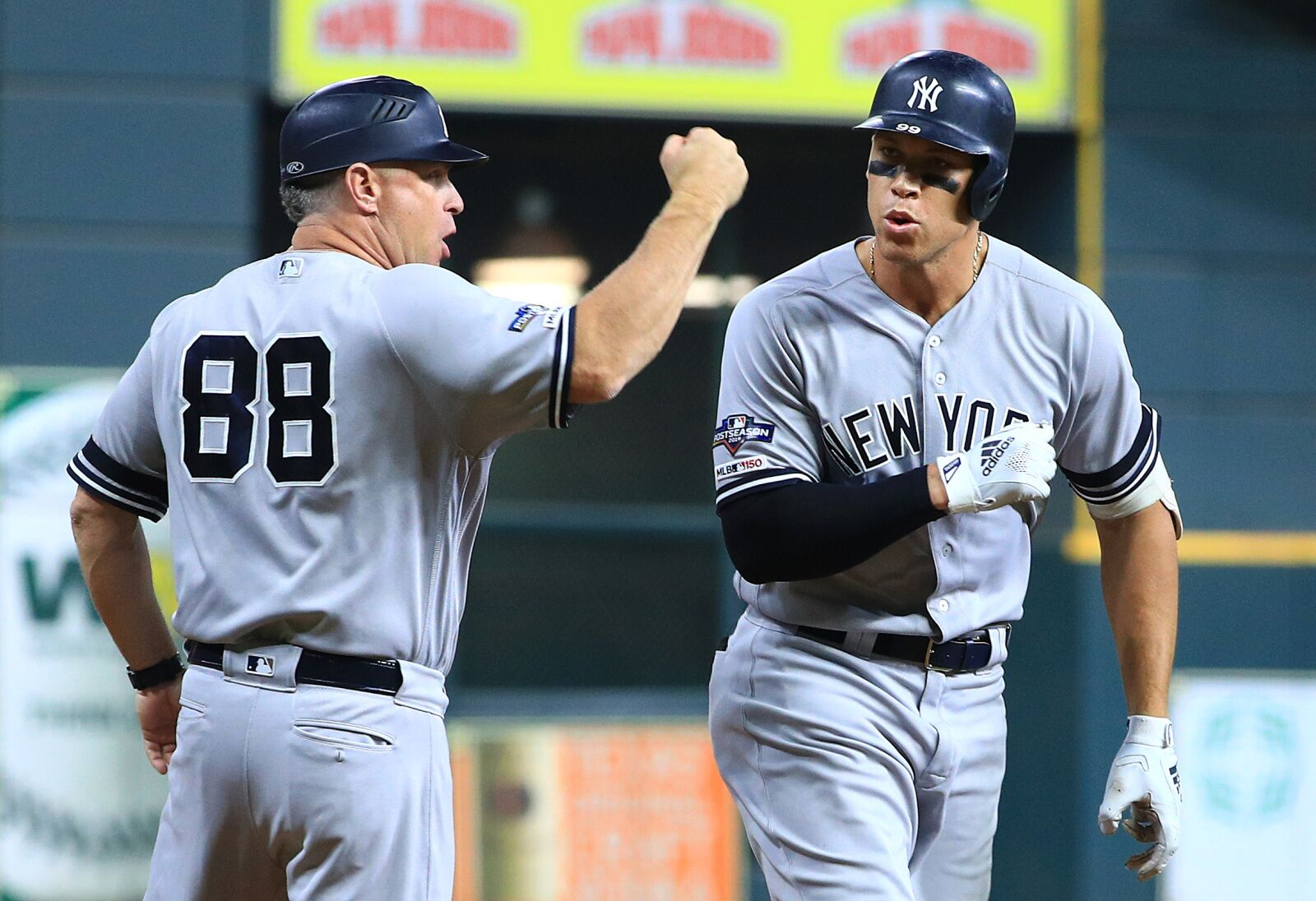 Yankees Phil Nevin caught wind of Astros stealing signs in ALCS Game 1