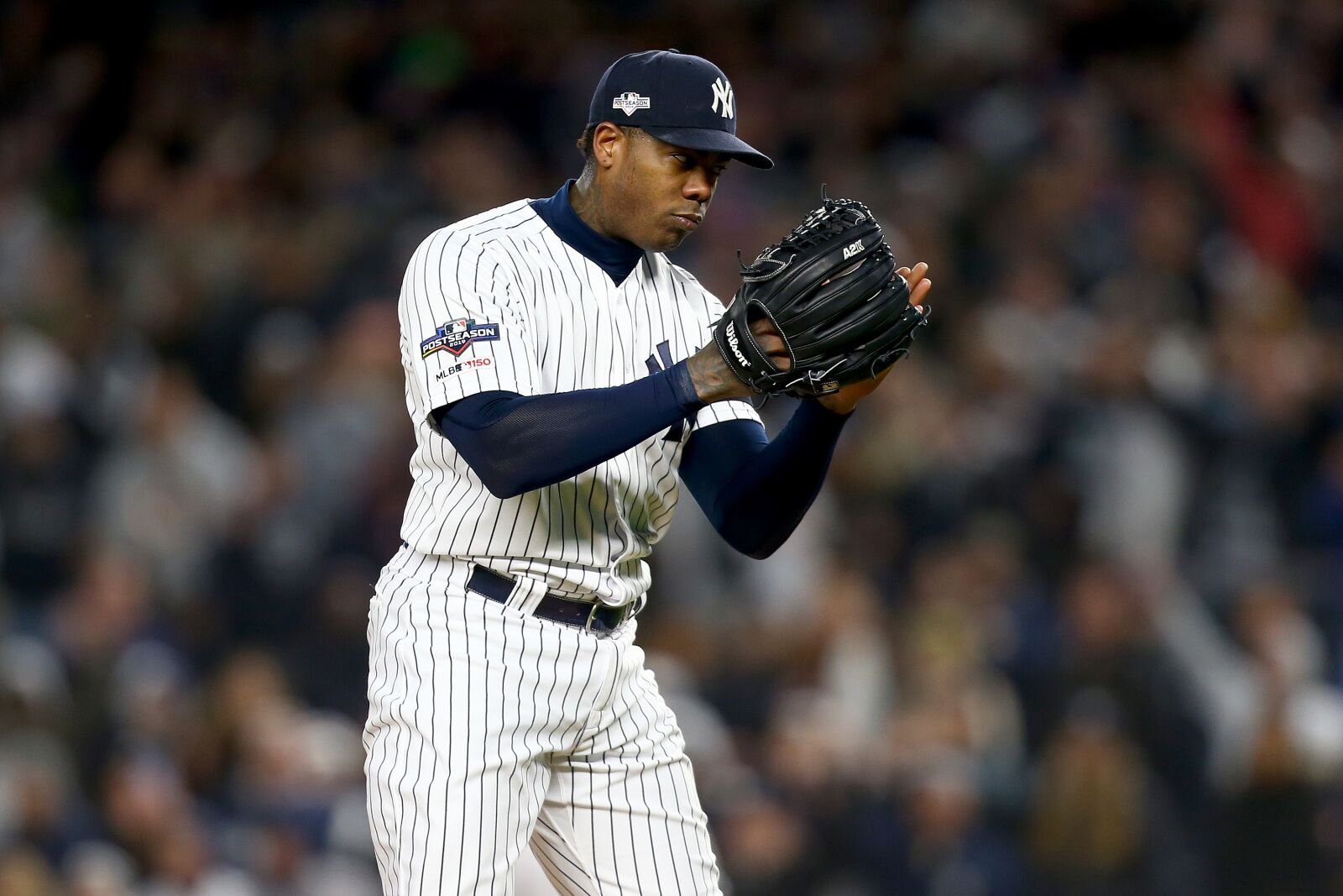 Yankees may have to decide between Aroldis Chapman or an ace starter