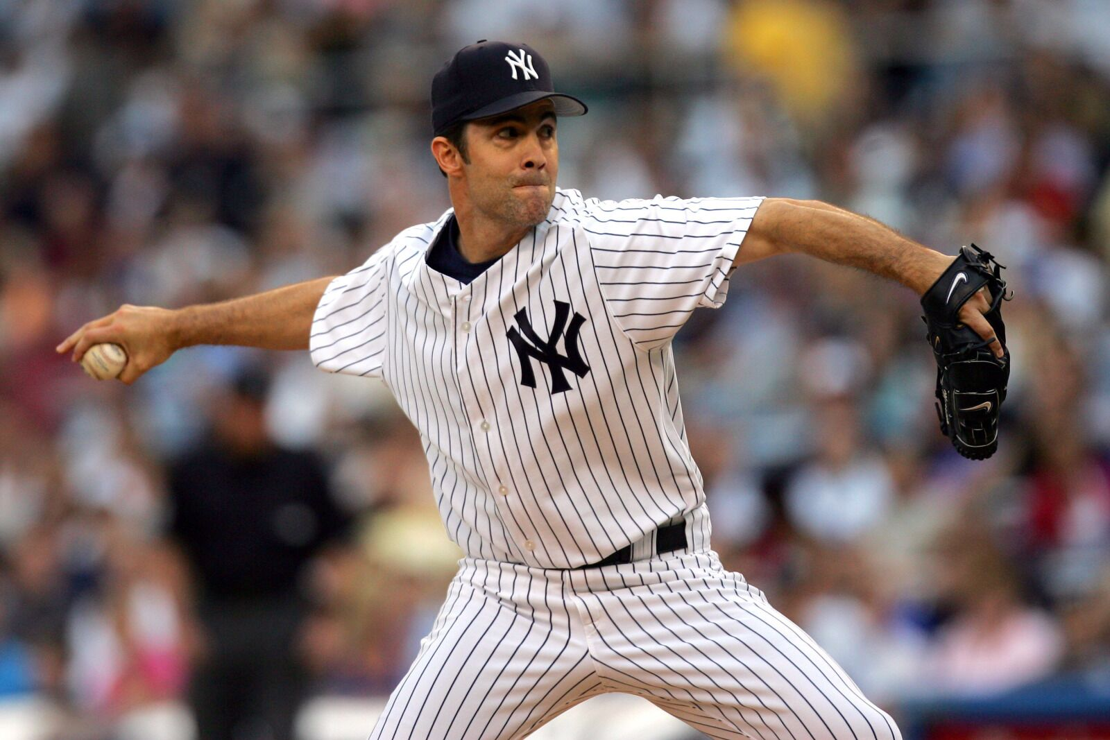 8c1c60707 Yankees  Which hat will Mike Mussina wear into the Hall of Fame