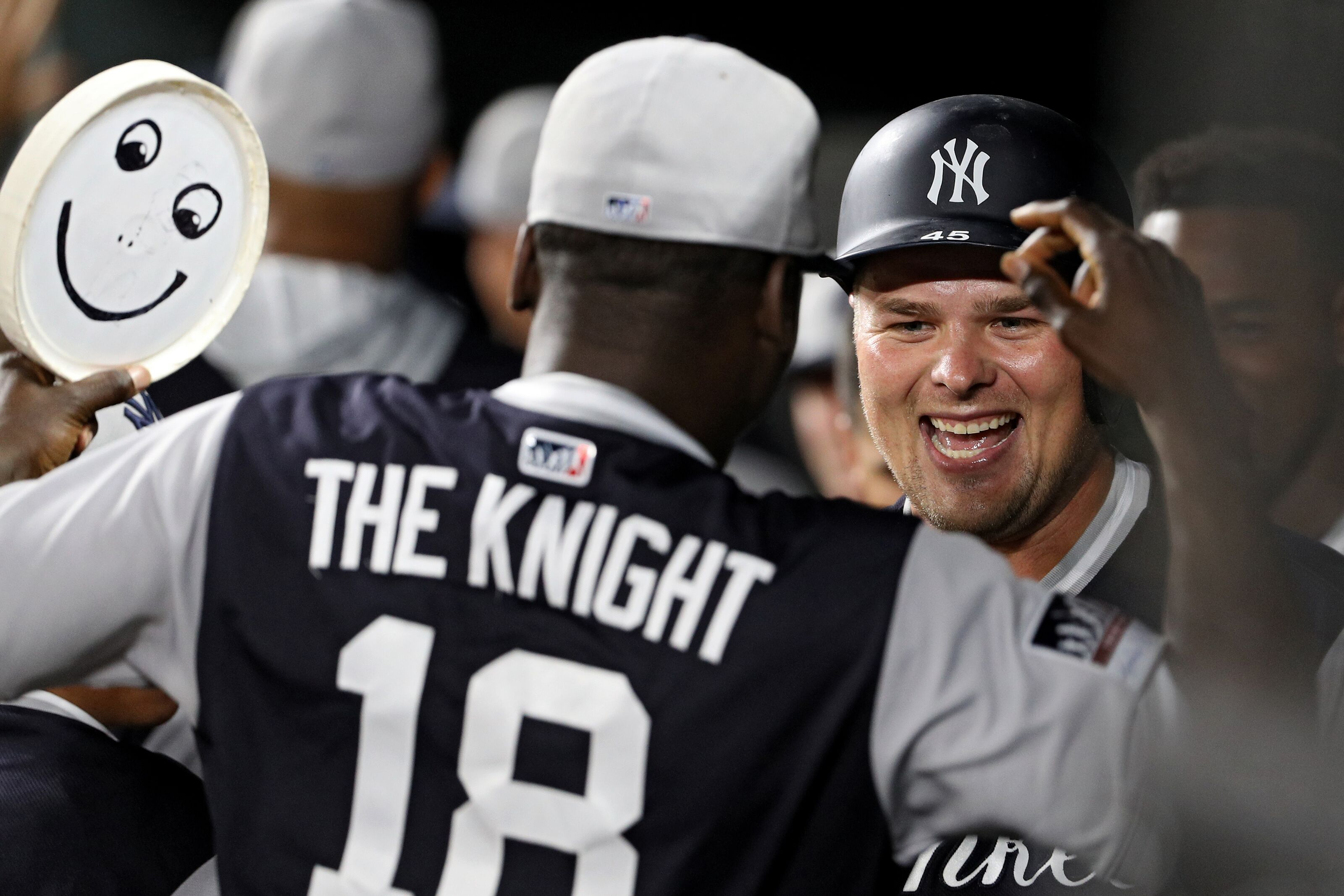 check out 7d38b 4c71a Yankees Luke Voit: Who is he and what happens to Greg Bird now?