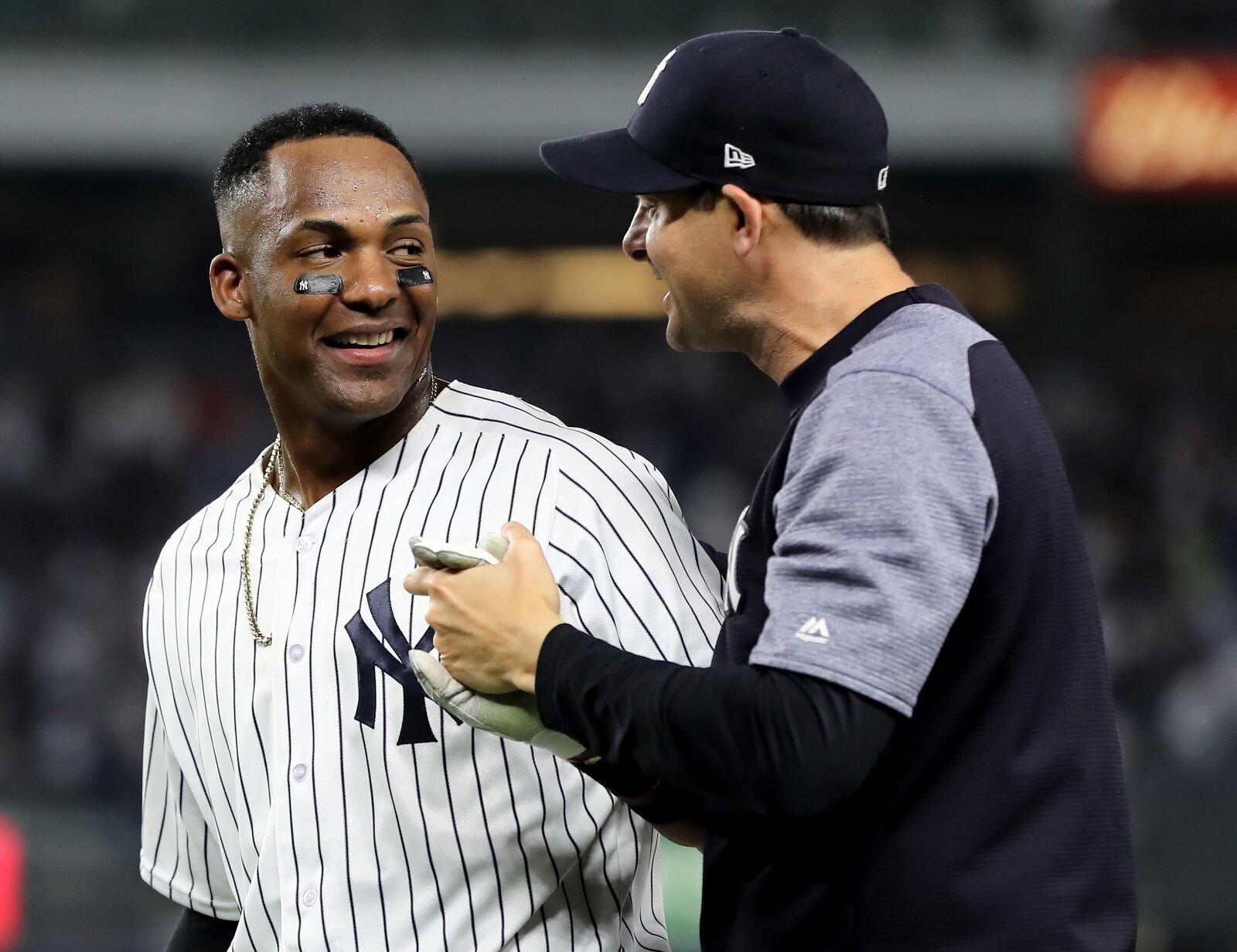 Yankees: Aaron Boone says Miguel Andujar should be healthy by spring training