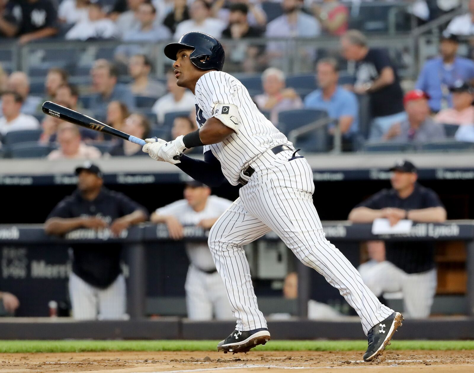 Yankees  Does Miguel Andujar have AL Rookie of the Year locked up  48a39c129dd