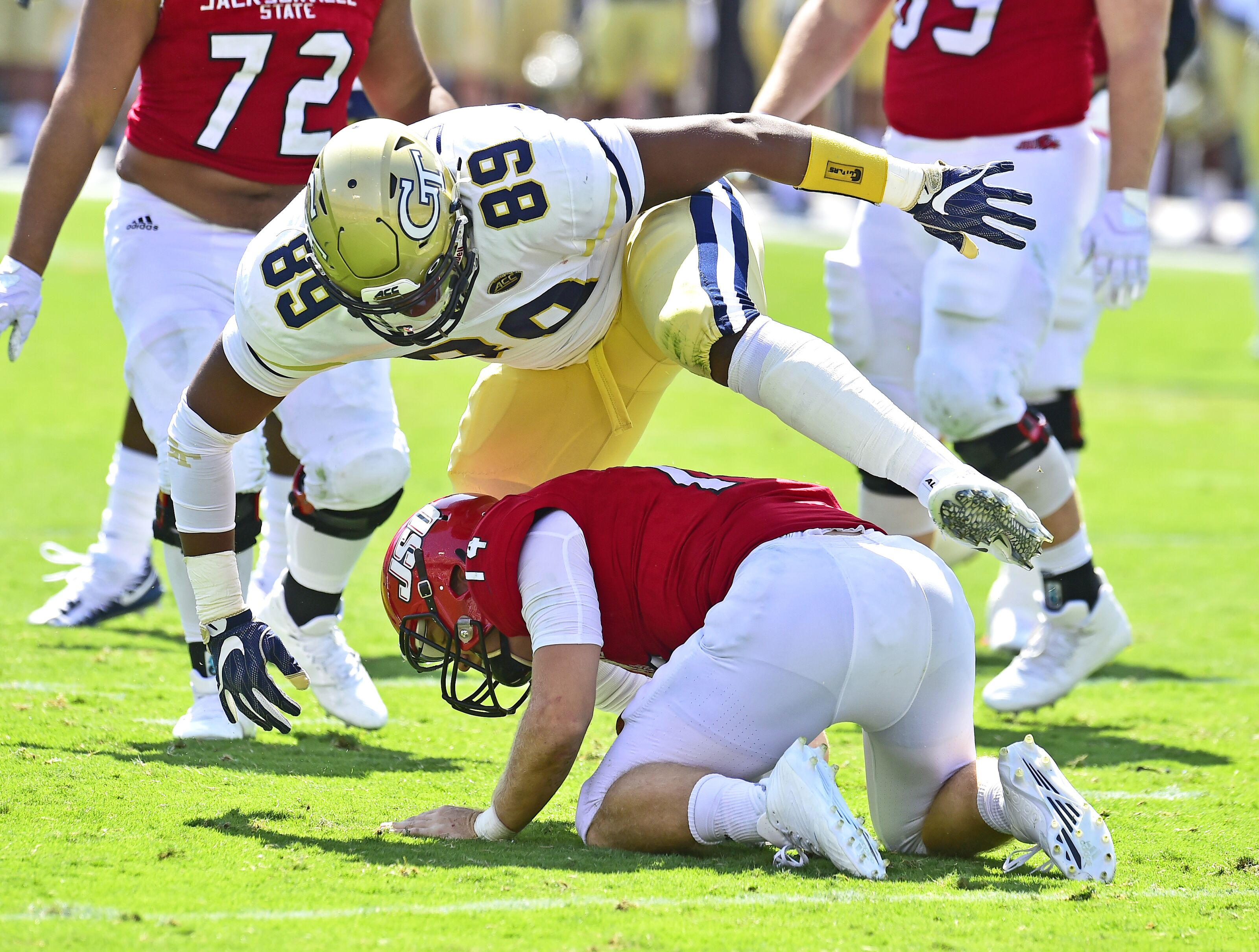 Georgia Tech Football: Previewing the Jackets spring defensive line group