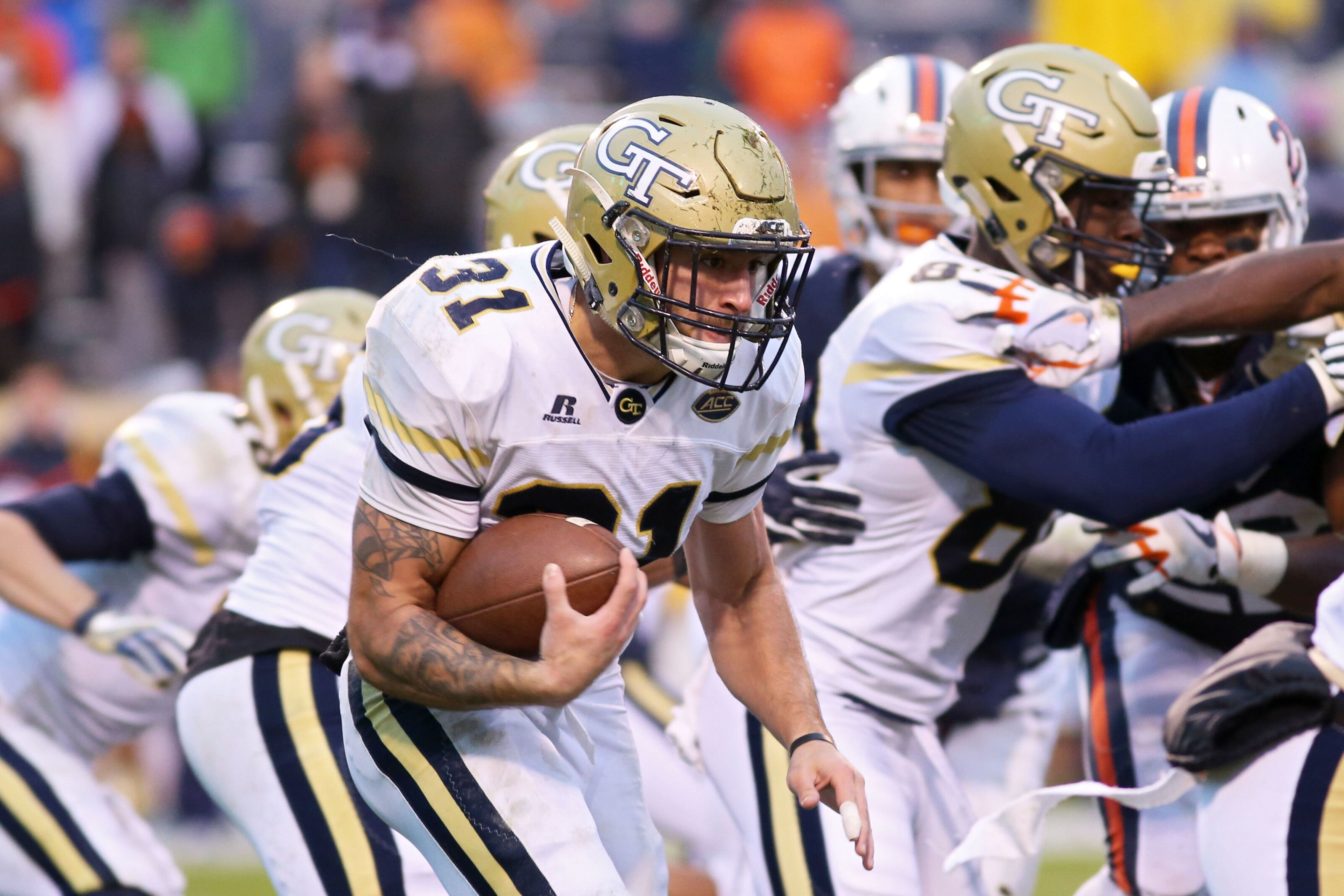 Georgia Tech Football 2018 Player Preview 31 Ab Nathan Cottrell