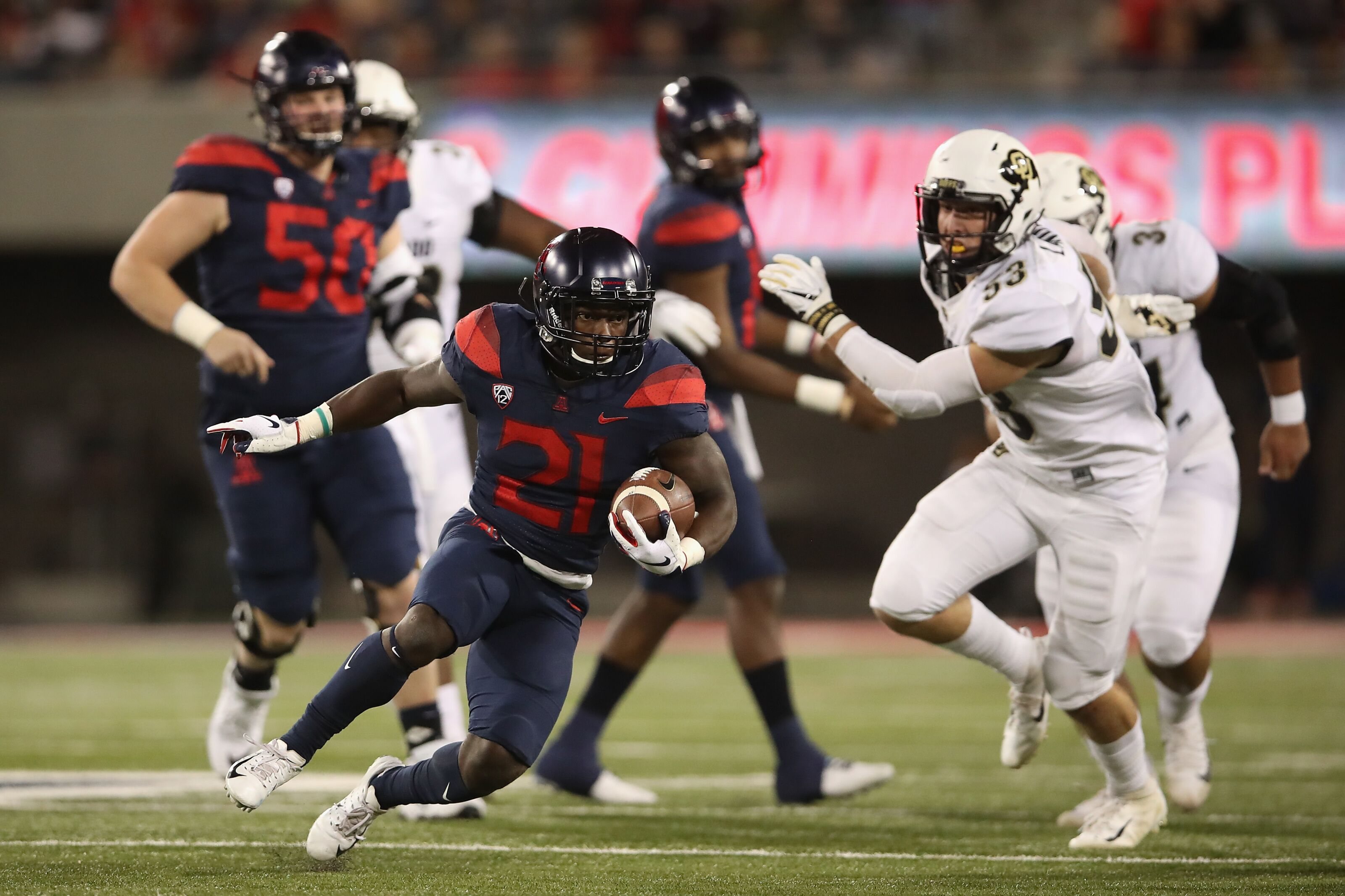 Arizona Football: JJ Taylor among the best when it comes to running backs in college football