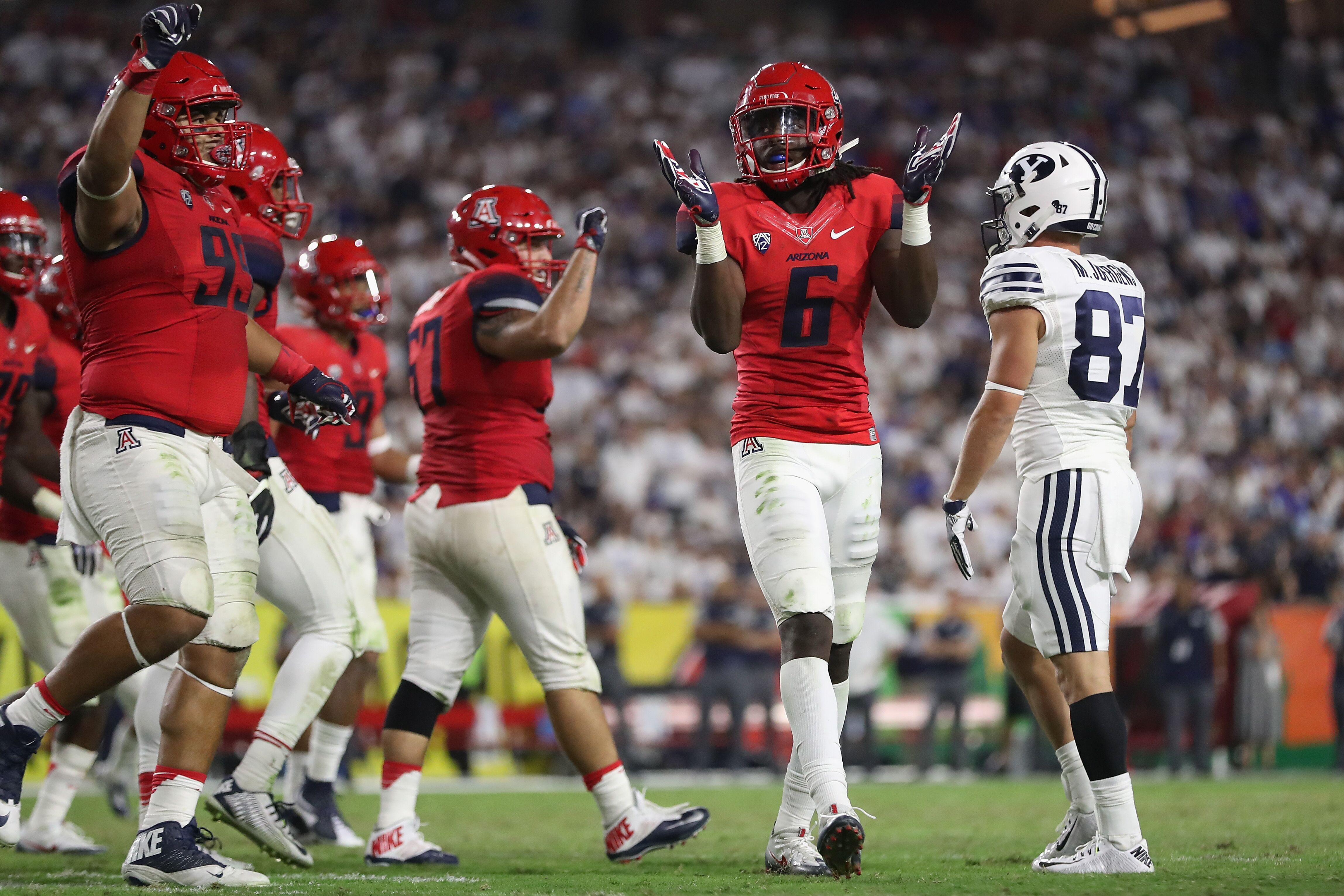Ex-Cats perform well at the annual Arizona Football Pro Day