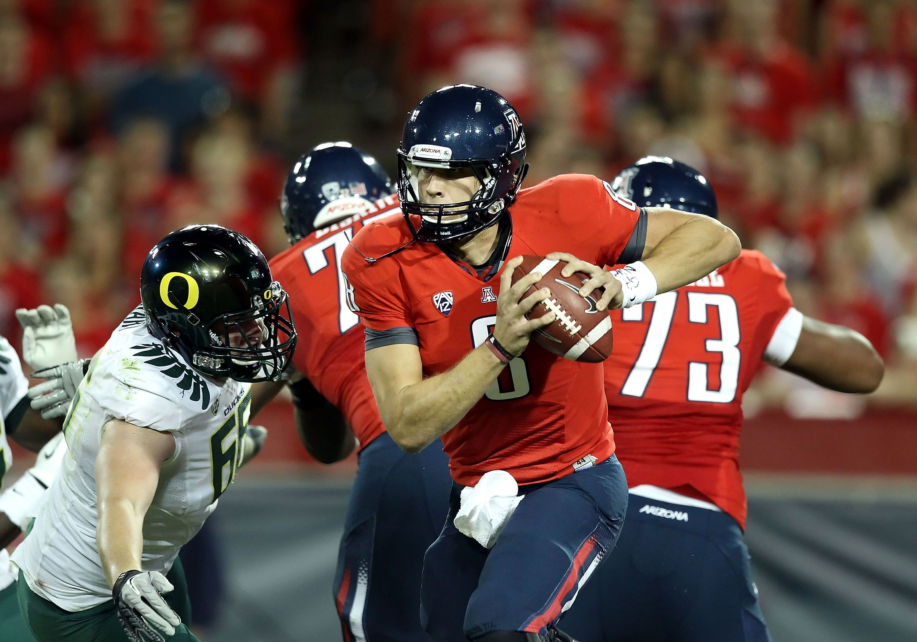 low priced 68625 bbde1 Nick Foles: 1st Arizona Football quarterback to play in a ...
