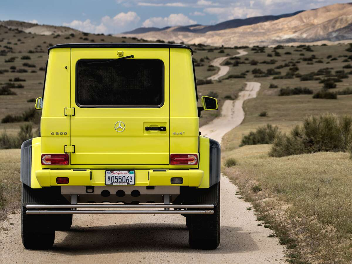 Testing Fate And Faultlines With The 416 Hp Mercedes G500