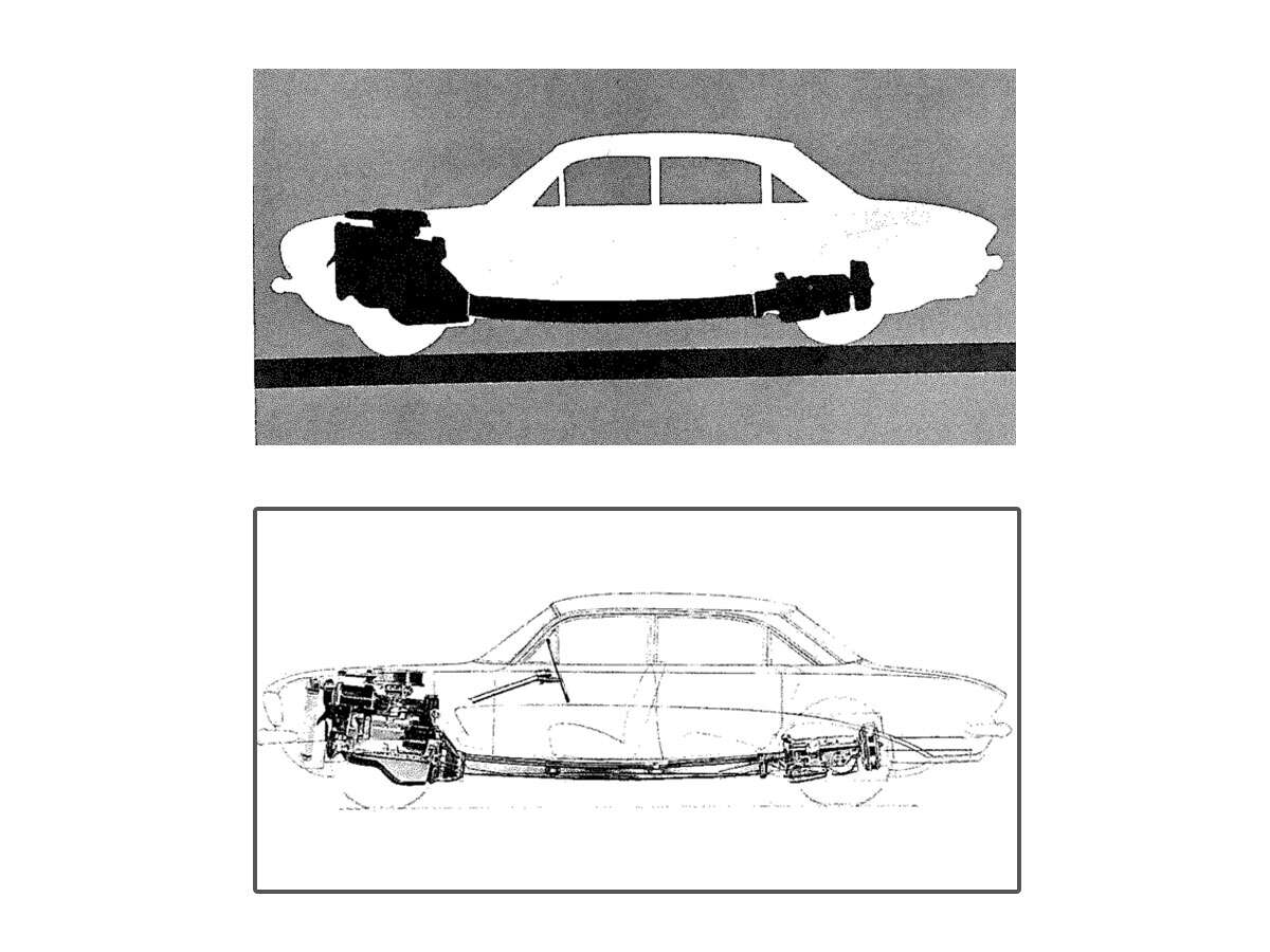 Carmakers Sometimes Build Strange Things Heres One Of The 1960 Pontiac Gto Drawings Gm Heritage Center