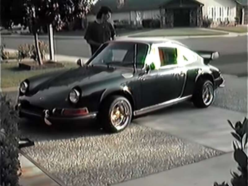 Vintage Video Porsche 911 Lowrider Shows Off Its Hydraulics