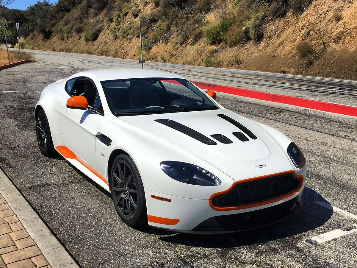 The Mclaren 570s And Aston Martin V 12 Vantage S Manual It S What S