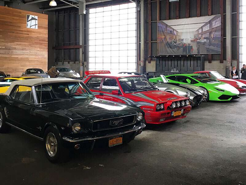 Visiting Classic Car Club of Manhattan\'s New Home - The Drive