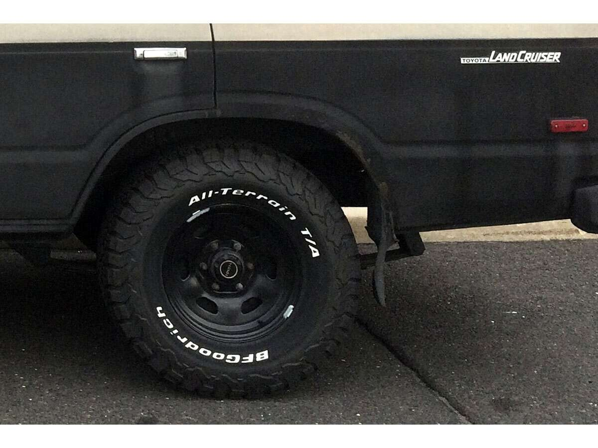 White letter tires are badass the drive for How to blackout white letter tires