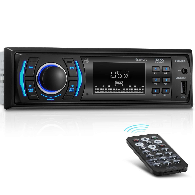 Boss Audio 612ua Multimedia Car Stereo: 3 Best Single-DIN Head Units For Car Stereos (2019)