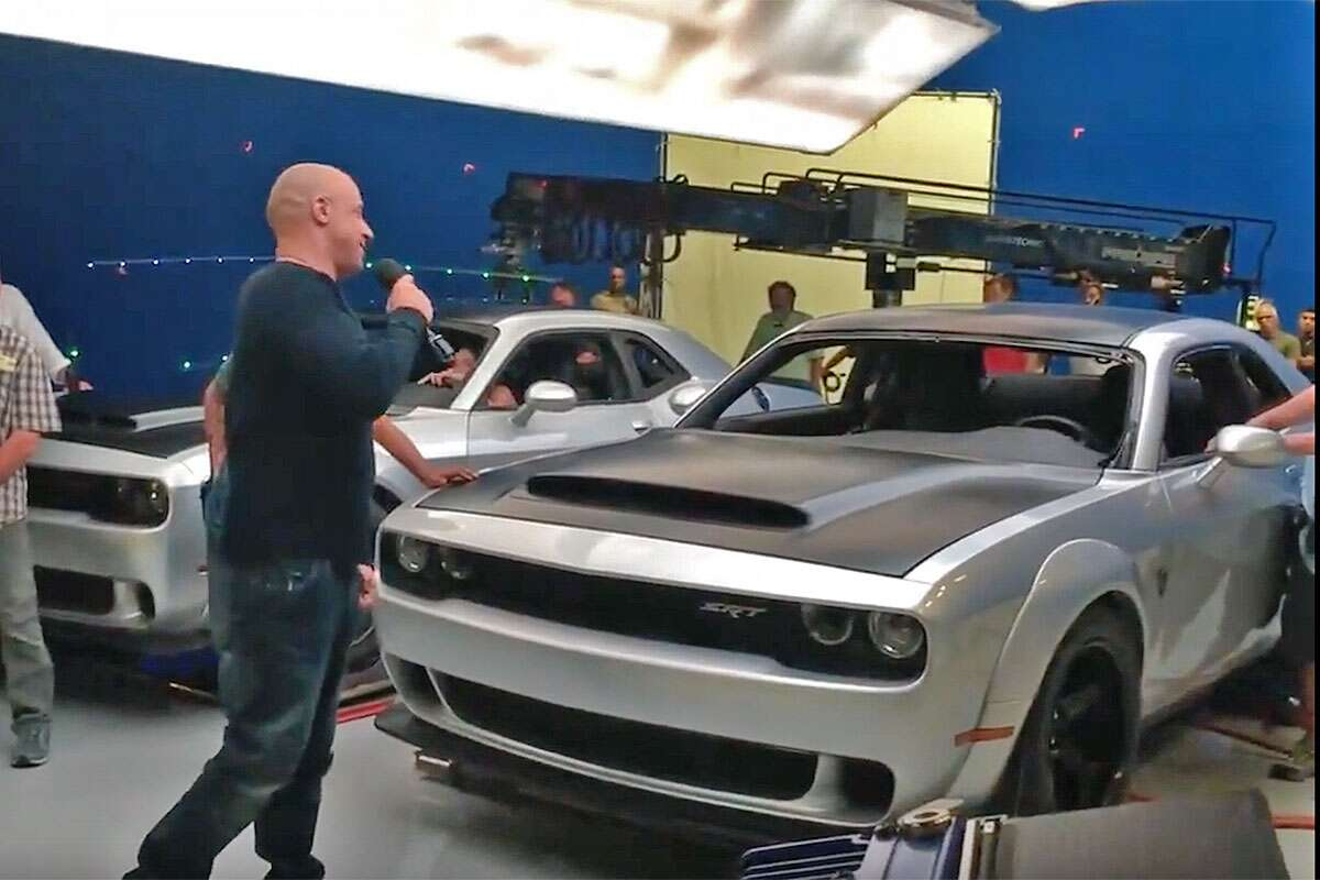 Is That The Dodge Challenger Demon In This Vin Diesel Fast Furious