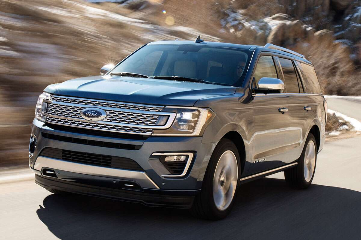 It also allowed ford to drop more features into its giant suv without dragging down gas mileage which is a plus again americans love new stuff