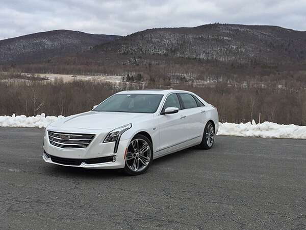 The 2017 Cadillac Ct6 Platinum Awd Sets A New Benchmark For American