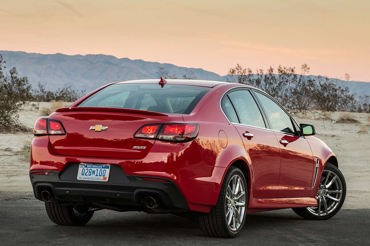 Since Then Gm Has More Or Less Seen Fit To Let The Chevy Ss Exist In Relative Peace Constraining Its Updates New Colors And Well Pretty Much Just