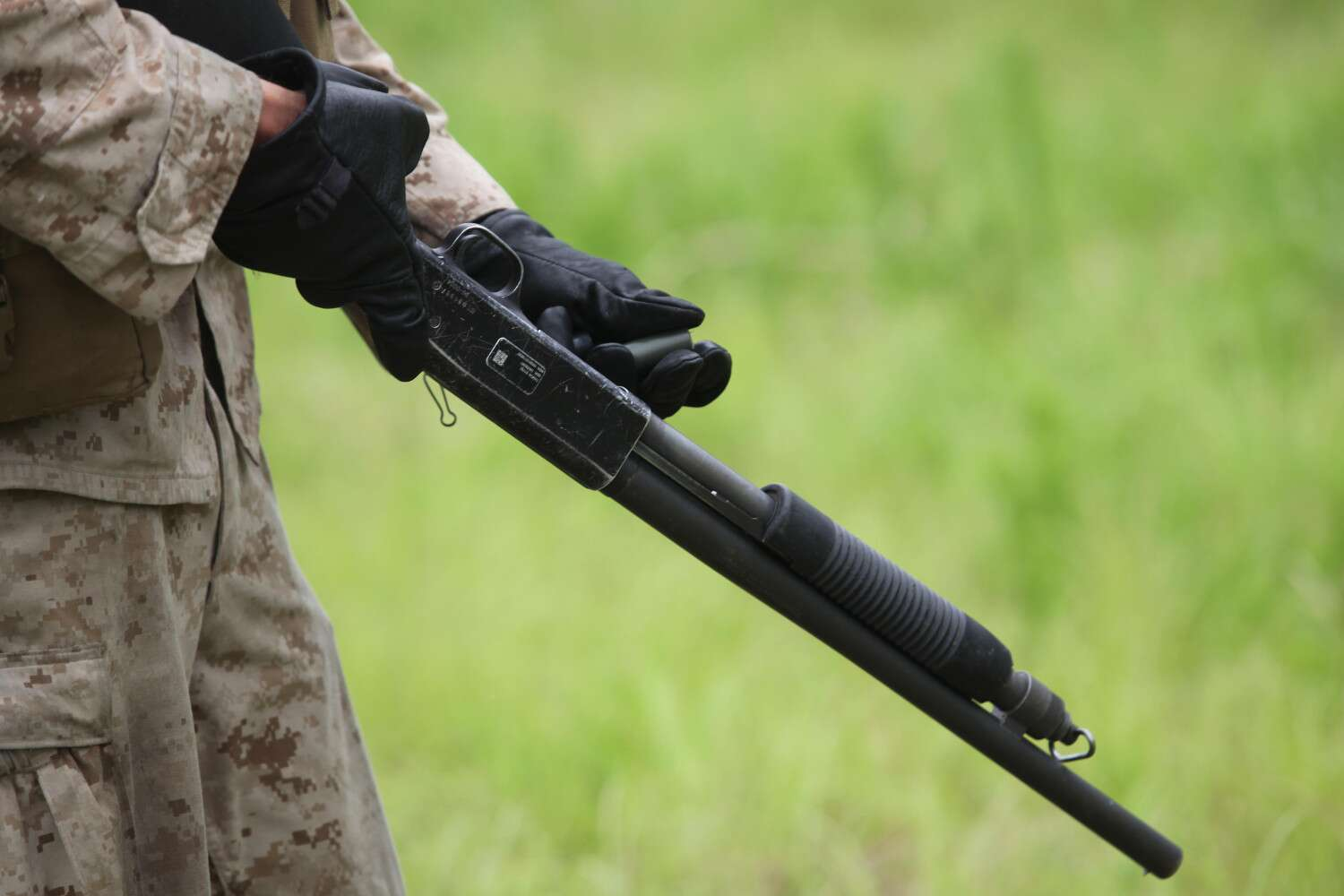 Check Out The Marine Corps Fearsome Looking Upgraded Shotguns The