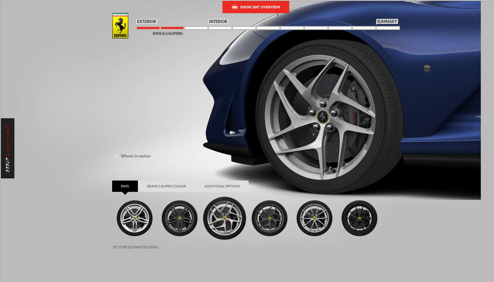 Ferrari 812 Superfast Car Configurator Is Up And Running The Drive