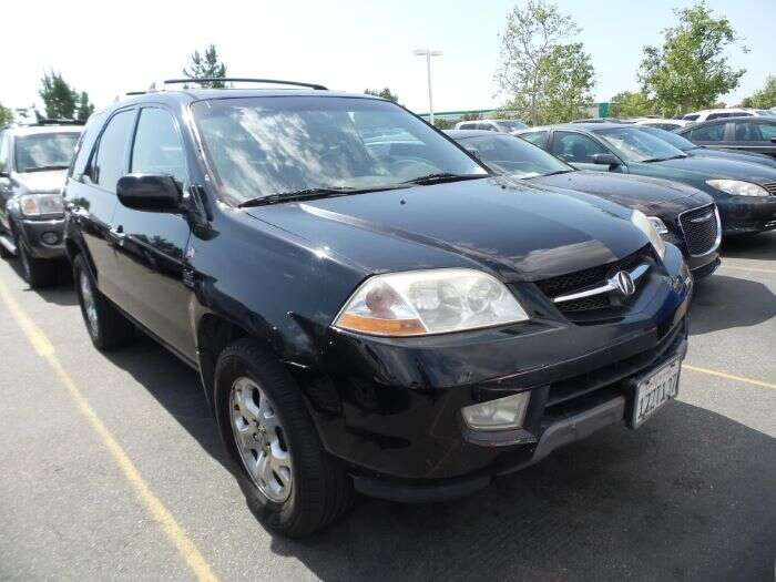 Acura MDX With A Jaw Dropping Miles The Drives Daily - 2004 acura mdx transmission
