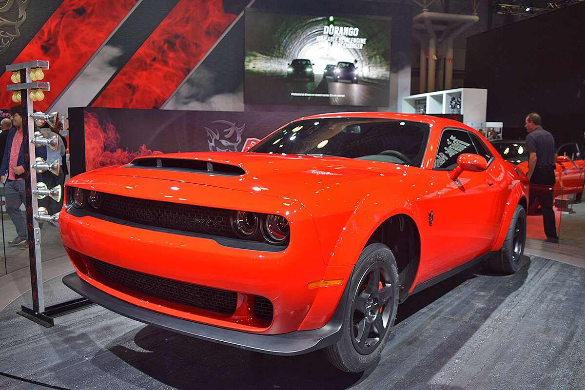 The Muscle Cars Of The 2017 New York Auto Show