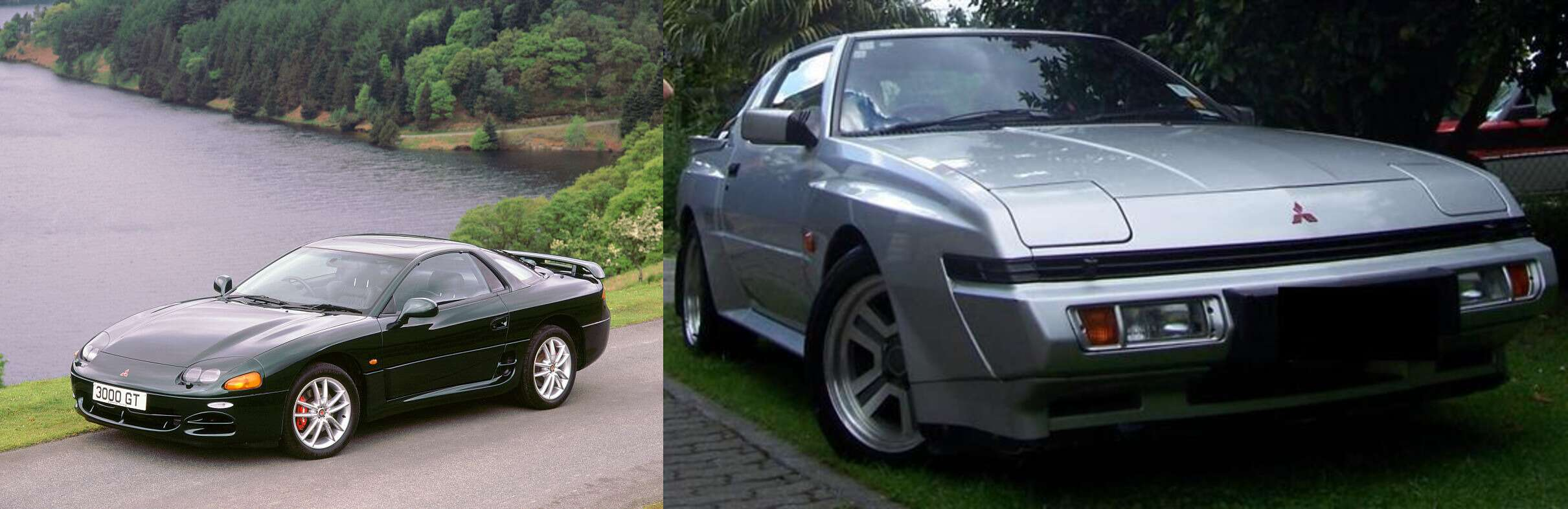 5 Weird Engine Swaps That Need To Happen The Drive Mitsubishi Starion Dodge Conquest 6g72 Dohc Tt V6 And