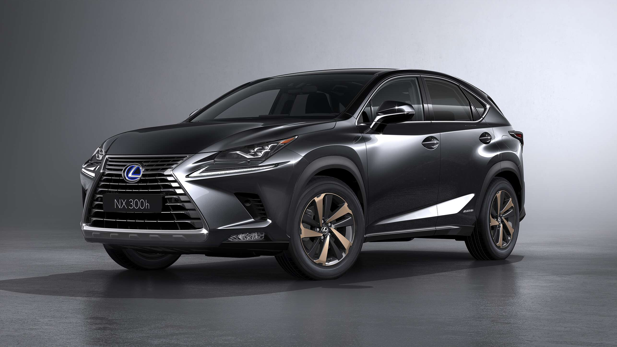updated lexus nx crossover debuts at shanghai auto show the drive. Black Bedroom Furniture Sets. Home Design Ideas