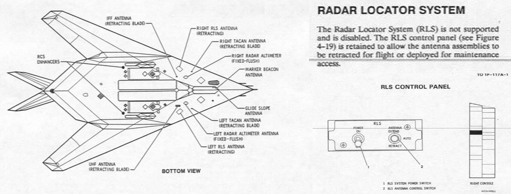 The Mysterious Case Of The F-117 Nighthawk's Flip-Down Radar ...