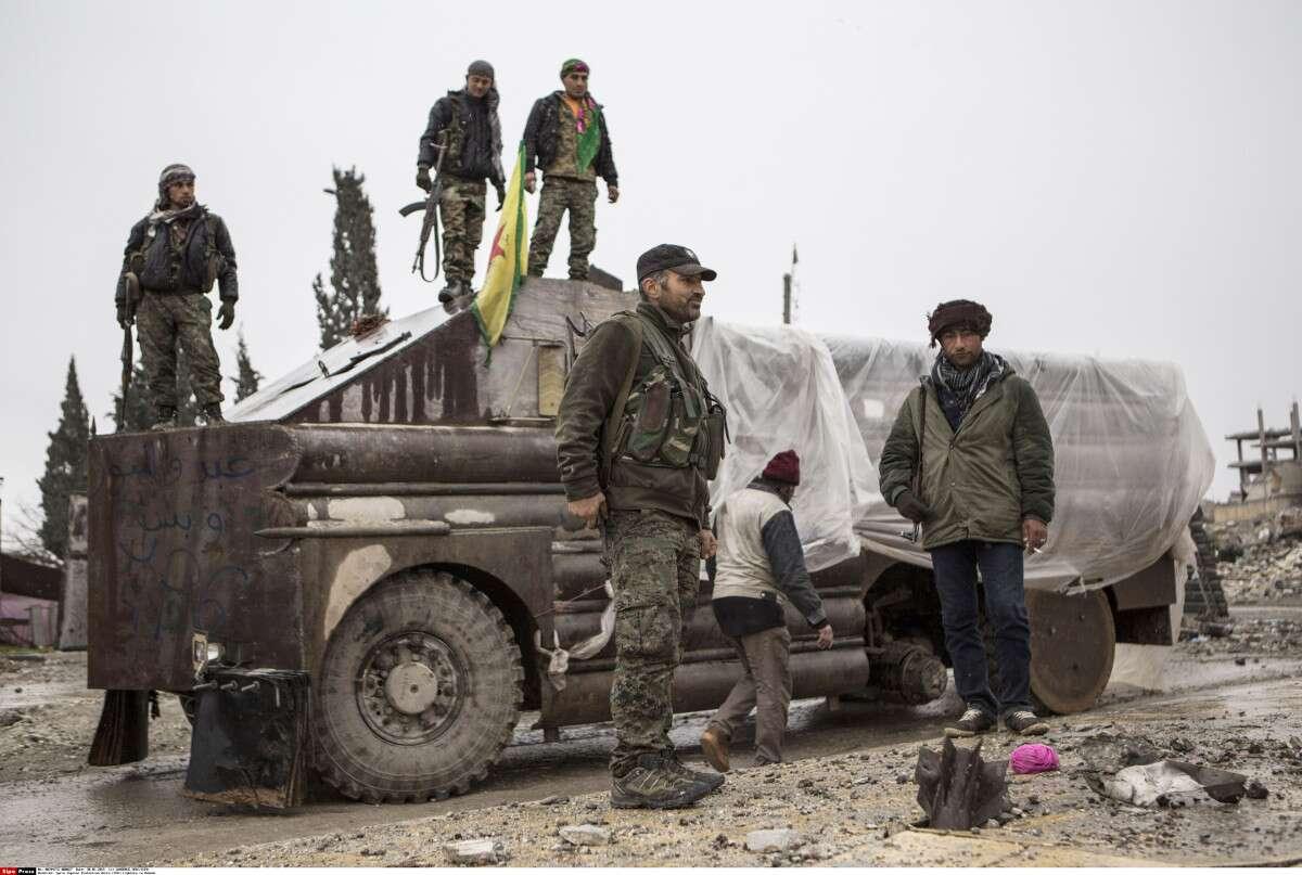 Us Gives Syrian Kurds Combat Vehicles Mortars Anti Tank Weapons Vw Rebel Wiring Harness Ap