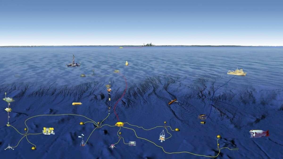 South China Sea Underwater Quot Environmental Quot Sensor Net
