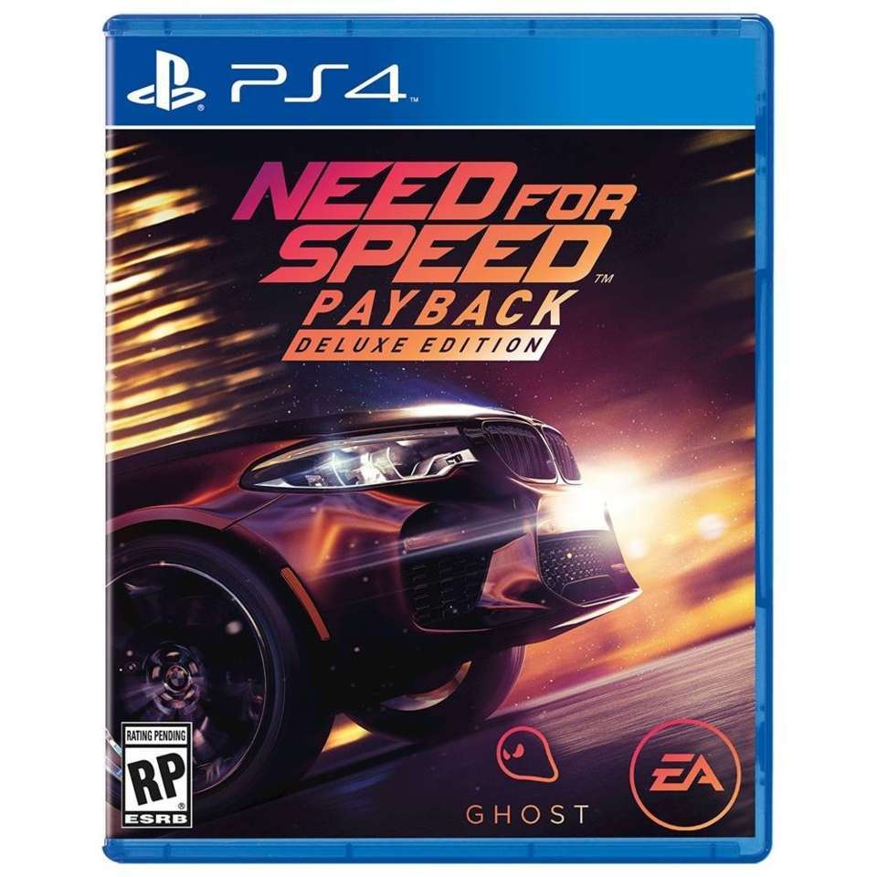 new bmw m5 shown on cover of upcoming need for speed payback game the drive. Black Bedroom Furniture Sets. Home Design Ideas