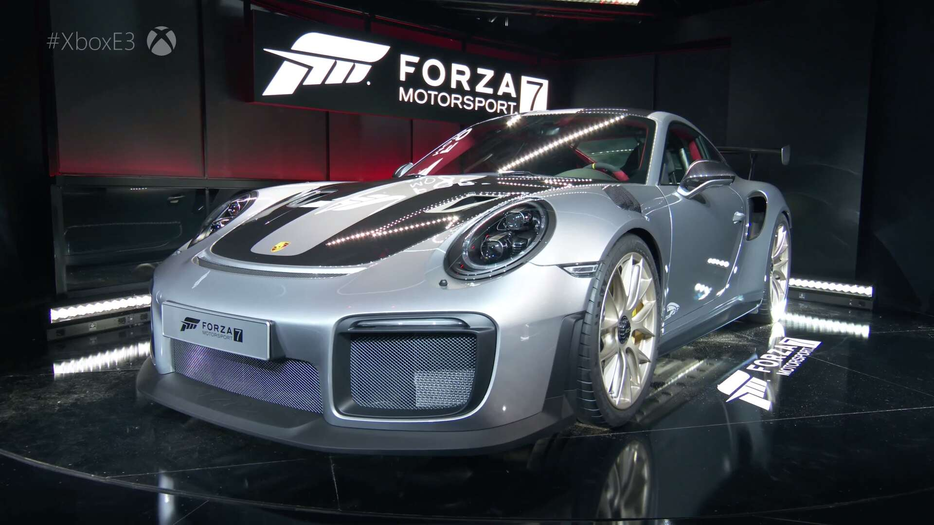 2018 porsche 911 gt2 rs revealed along with forza motorsport 7 the drive. Black Bedroom Furniture Sets. Home Design Ideas