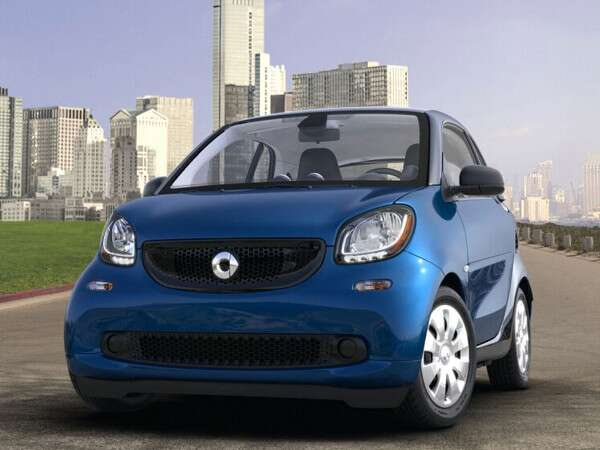 10 Smart Fortwo Pure Coupe 1 325 7 Of Car S
