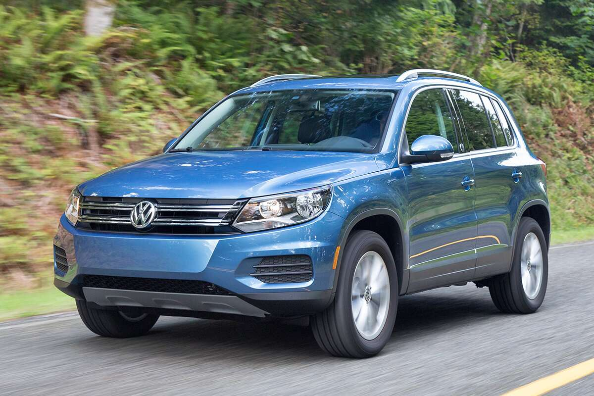 2018 volkswagen tiguan review 7 things to know the drive. Black Bedroom Furniture Sets. Home Design Ideas