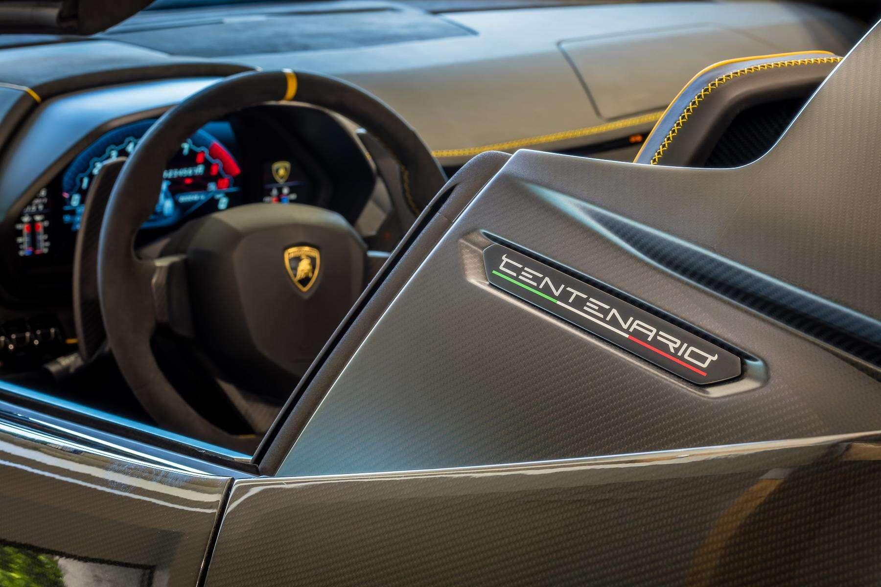 world's first $2.3 million lamborghini centenario roadster has been