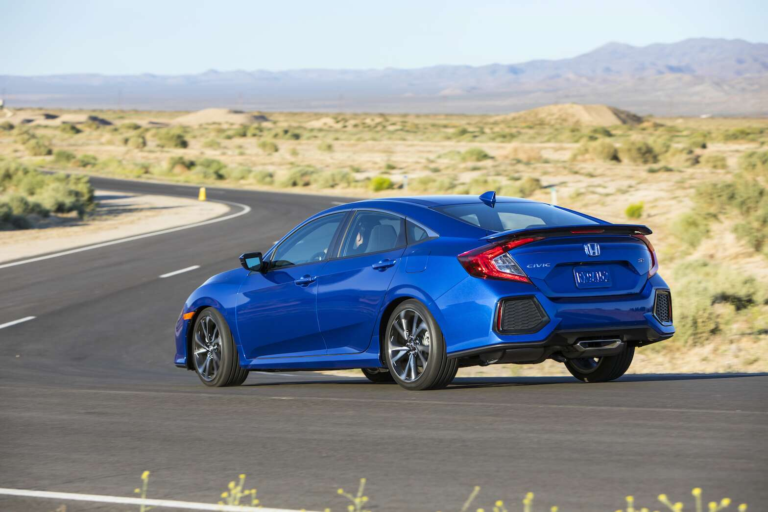 Honda The 2017 Civic Si In