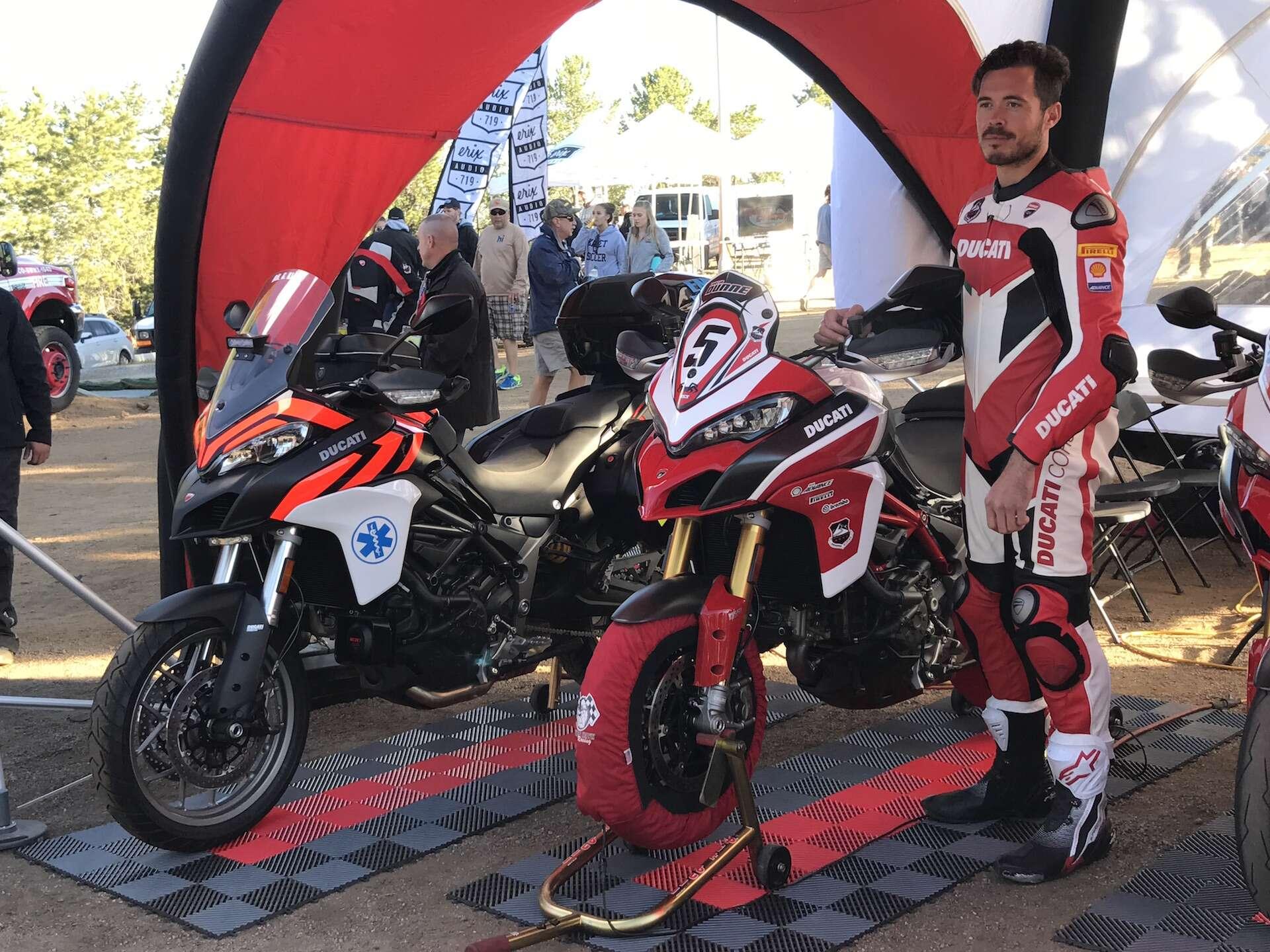 How Ducati Helped Keep Motorcycle Racing Alive At The Pikes Peak